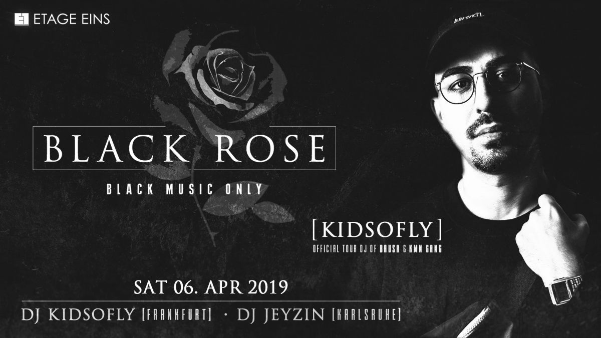 Black Rose x Kidsofly