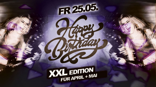 Birthday Party - XXL Edition für April & Mai