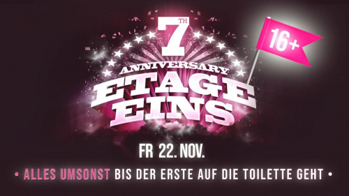 7 Jahre Etage Eins Warm Up Party