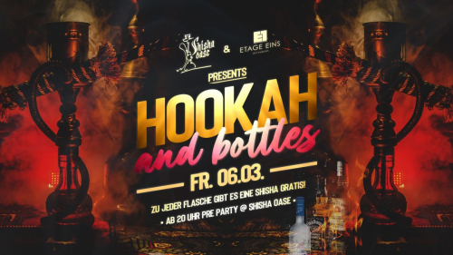 Hookah and Bottles